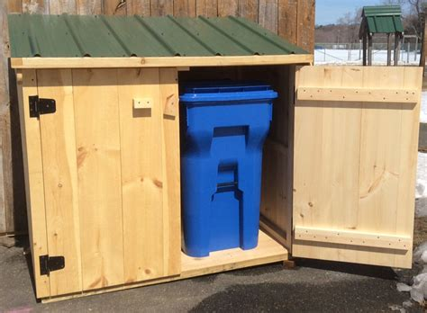 Shed 3x5 by 3 X 5 Mini Recycling Shed