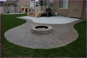 best concrete patio designs with pit 15 on diy patio