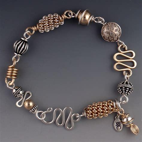 Gold Mix 1 silver gold mix bracelet bjchristian designs