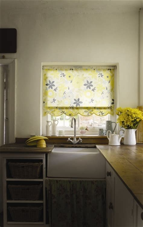 yellow kitchen blinds how to choose blinds for a kitchen web blinds