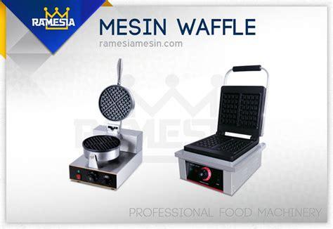 Mesin Waffle mesin pembuat roti mixer roti oven roti ramesia mesin