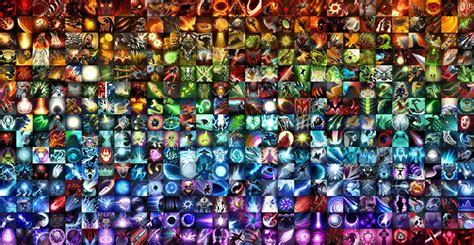 Best Color Combos every hero ability poster rubick s mind dota2