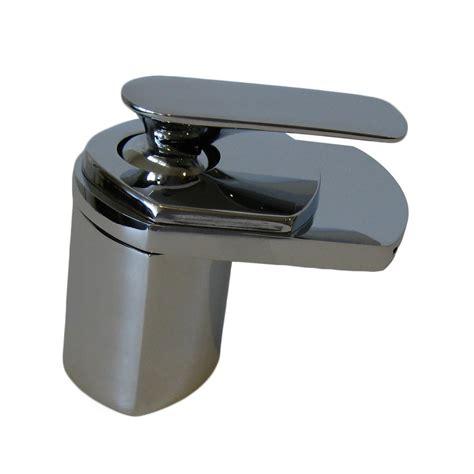 Chrome Vessel Faucet by Shop Novatto Waterfall Chrome 1 Handle Vessel Bathroom