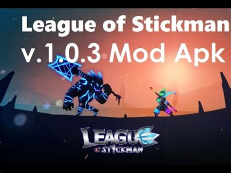 league of stickman full version cheat league of stickman cheat mod apk v 1 0 3 unlimited gold