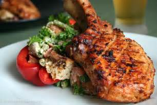 chipotle grilled pork chop bread salad 171 what we re