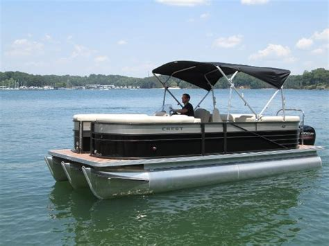 crest pontoon boat mooring cover crest pontoons creii230 boats for sale boats