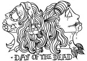 day of the dead coloring sheets day of the dead coloring pages az coloring pages