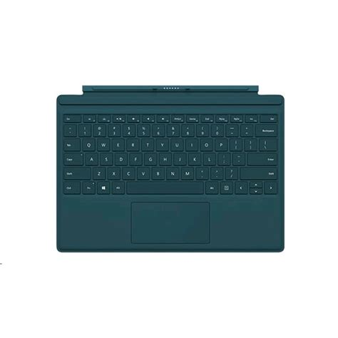 windows surface type cover microsoft surface pro 4 type cover teal azerty fr r9q