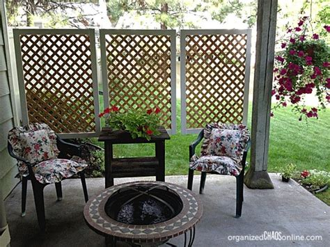 ways to get privacy in backyard a husband and wife want privacy on their porch but