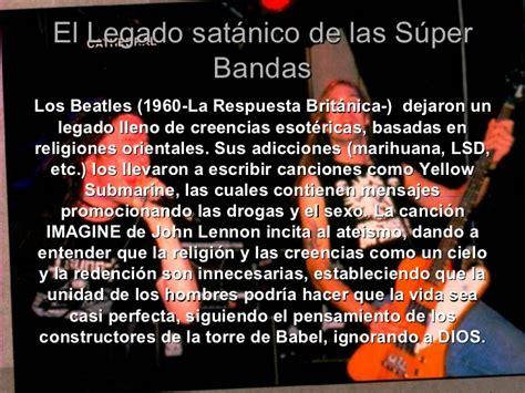 mensajes subliminales and musica el rock satanico y sus mensajes subliminales