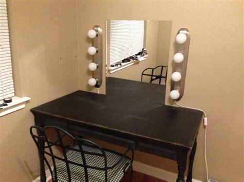 Diy Lighted Vanity Mirror by Diy Vanity Mirror And Lights Imgur Vanities