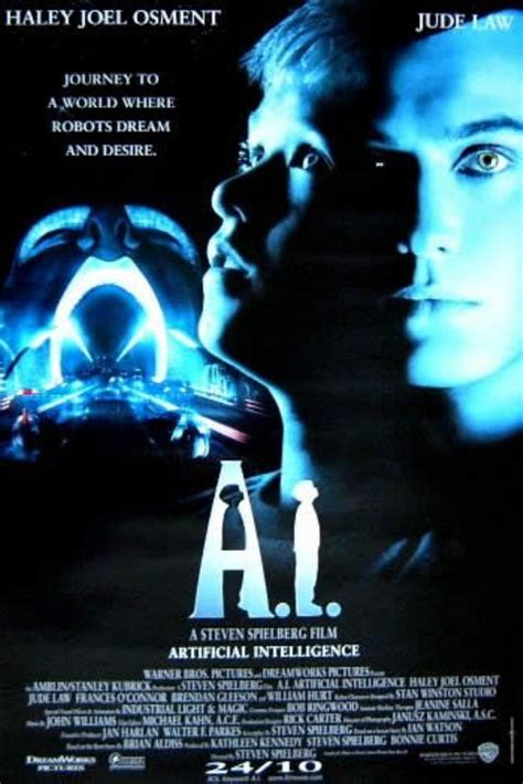 film robot intelligent a i intelligence artificielle en streaming dpstream