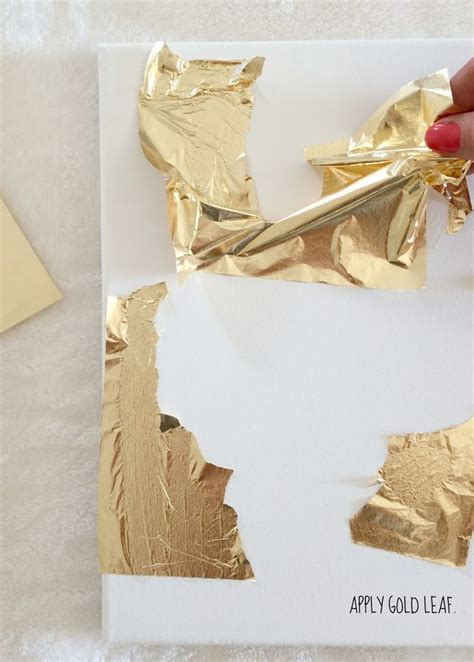 How To Make Gold Paper - 25 best ideas about easy abstract on