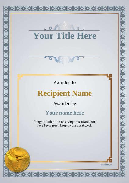 ballet certificate templates add printable badges