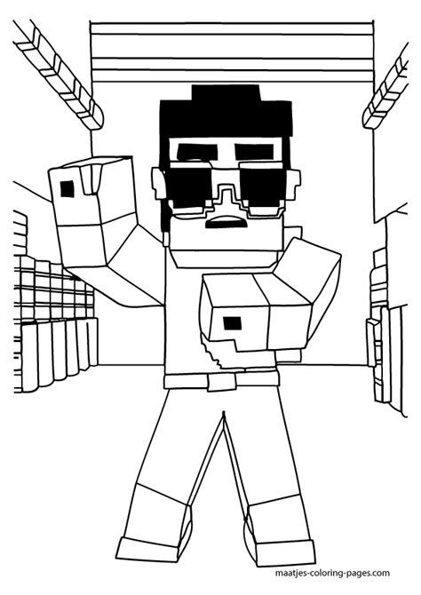minecraft mario coloring pages free minecraft coloring pages