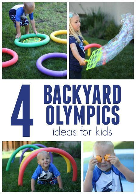 backyard olympic games for kids 2 simple and silly backyard olympics ideas for kids
