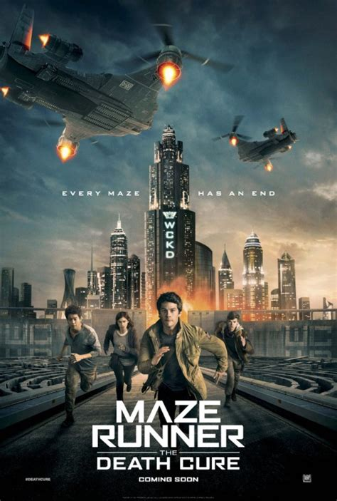maze runner film awards maze runner the death cure movie poster 10 of 20 imp