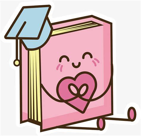 imagenes animadas de un libro pink cartoon libro vector png libro libros de dibujos