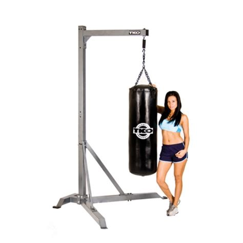 tko commercial heavy bag stand fitnesszone