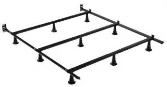 How To Put Together A Size Metal Bed Frame Greenhome123 Size Metal Bed Frame With 9 Legs And