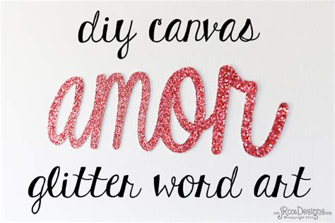 valentines day glitter text craftaholics anonymous 174 glitter word