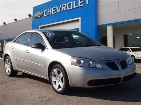 pontiac g6 base sell used 2007 pontiac g6 base sedan 4 door 2 4l in