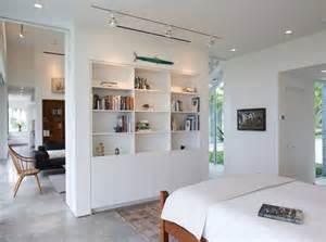 Exceptionnel Separer La Cuisine Du Salon #1: separation-de-piece-bibliotheque-chambre.jpg