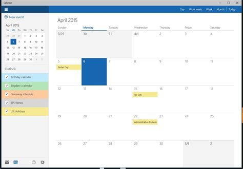 Calendar App For Windows 10 This Is The New Windows 10 Calendar App