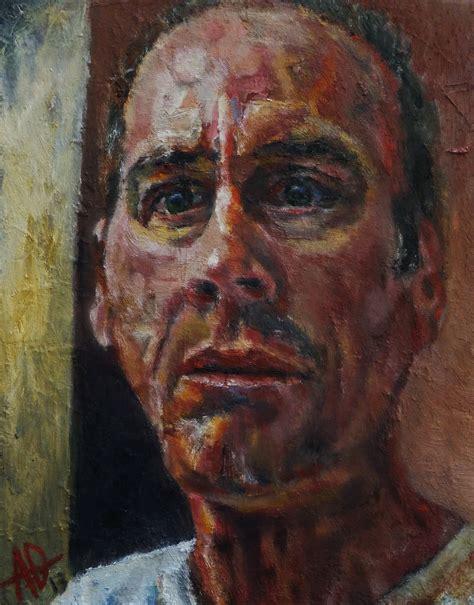 portrait auf leinwand d d on self portraits colin o