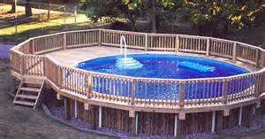 how to build above ground pool how to build a deck around an above ground pool ehow uk