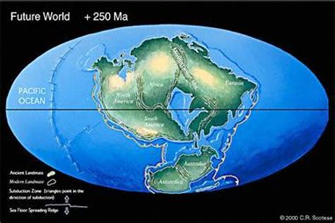 map world before land separated maps of continental drift