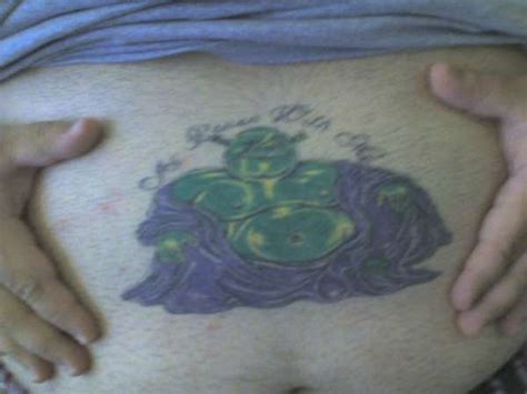 shrek tattoo budha shrek different pic
