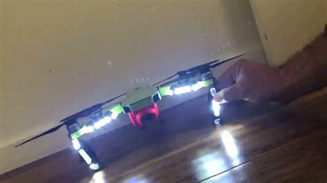 drone anti collision lights after market anti collision lights on the dji mavic pro