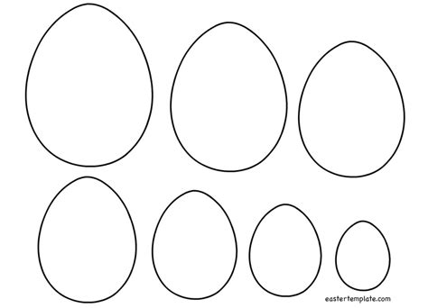 free easter templates free easter egg templates happy easter 2018