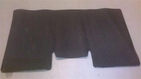 F150 Rubber Floor Mats by Genuine Ford Oem F 150 F150 Rubber Rear Floor Mat 9l3j