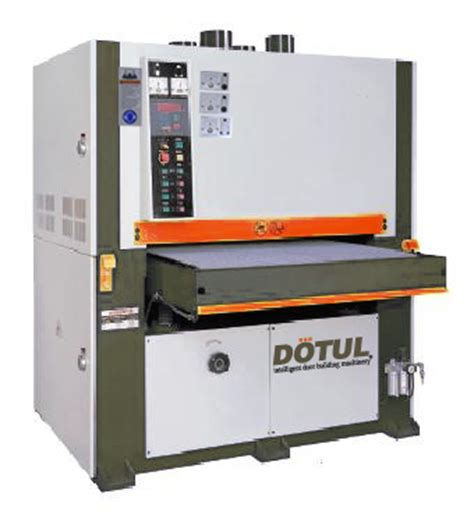 dotul three wide belt sander 43 quot mt 143 global