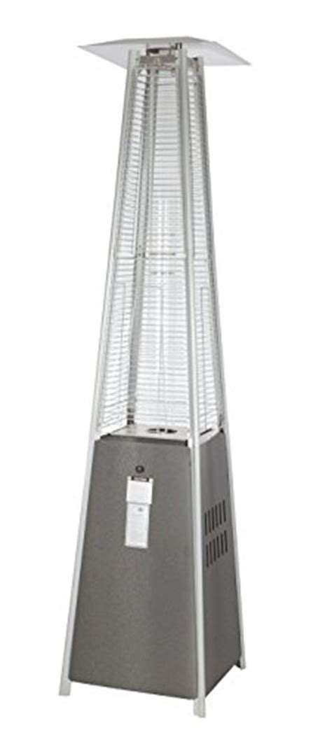 golden patio heater golden resort model 40 000 btu glass pyramid