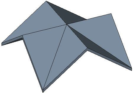 here is an exle of a cross gable roof in picture form