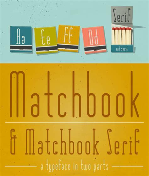 dafont retro matchbook font dafont com