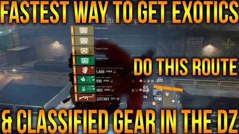 8 Ways To Land A New by The Division 1 8 Fastest Way To Get Classified Gear