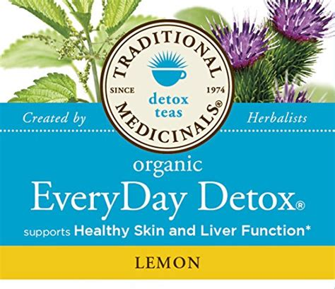 Traditional Medicinals Teas Organic Lemon Everyday Detox by Traditional Medicinals Organic Everyday Detox Lemon Tea