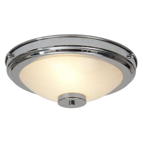 Flush Fitting Ceiling Lights Uk Flush Fitting Circular Chrome And Glass Deco Light For Low Ceilings