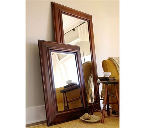 solano floor mirror pottery barn