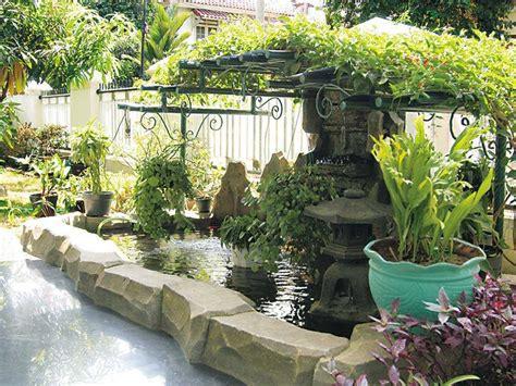 Terbaik Saringan Teh Buah tips membuat taman dan kolam depan rumah sederhana