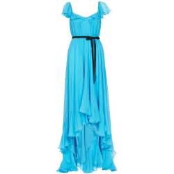 Dresses elizabeth and james marissa long blue silk dress