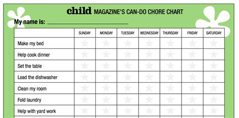 children s chore chart template best chore chart for chore chart templates