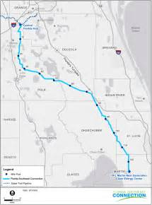 florida gas transmission map florida southeast connection pipeline florida southeast