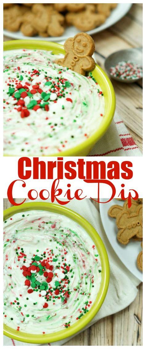 easy christmas cookie dip