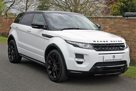 land rover range rover white land rover range rover evoque sd4 dynamic for sale