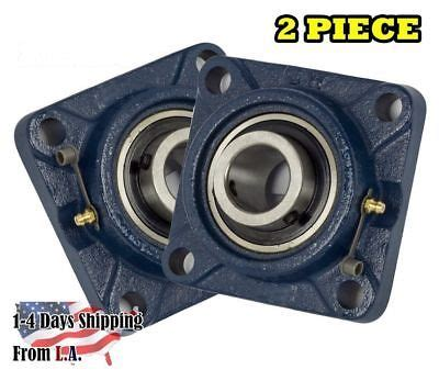 Pillow Block Bearing Ucf 205 14 Etk 78 ucf205 16 pillow block flange bearing 1 quot bore 4 bolt solid base 4pcs cad 27 41 picclick ca